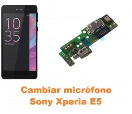Cambiar micrófono Sony Xperia E5