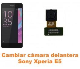 Cambiar cámara delantera Sony Xperia E5