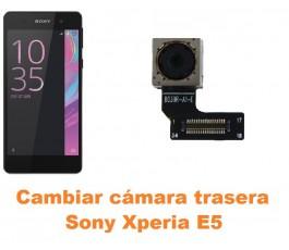 Cambiar cámara trasera Sony Xperia E5
