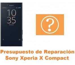 Presupuesto de reparación Sony Xperia X Compact