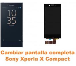 Cambiar pantalla completa Sony Xperia X Compact