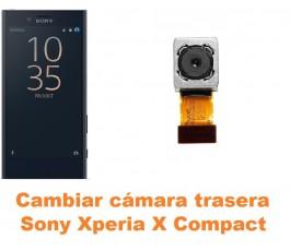 Cambiar cámara trasera Sony Xperia X Compact