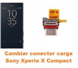 Cambiar conector carga Sony Xperia X Compact