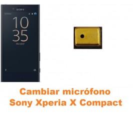 Cambiar micrófono Sony Xperia X Compact