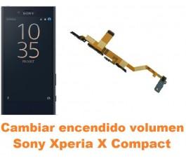 Cambiar encendido y volumen Sony Xperia X Compact