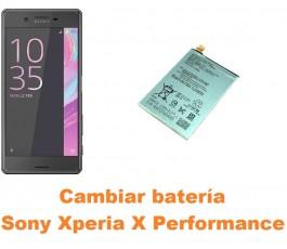 Cambiar batería Sony Xperia X Performance