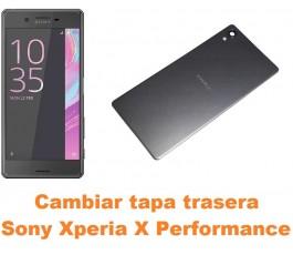 Cambiar tapa trasera Sony Xperia X Performance
