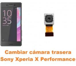 Cambiar cámara trasera Sony Xperia X Performance