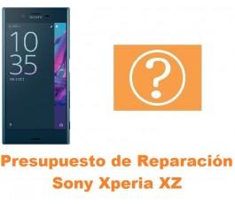 Presupuesto de reparación Sony Xperia XZ
