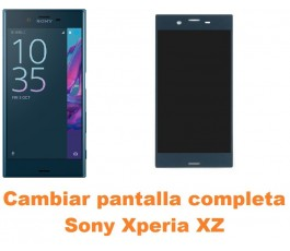 Cambiar pantalla completa Sony Xperia XZ