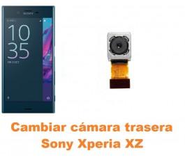 Cambiar cámara trasera Sony Xperia XZ