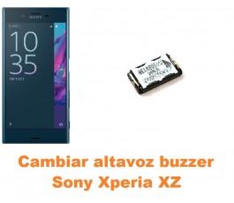 Cambiar altavoz buzzer Sony Xperia XZ