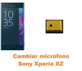 Cambiar micrófono Sony Xperia XZ