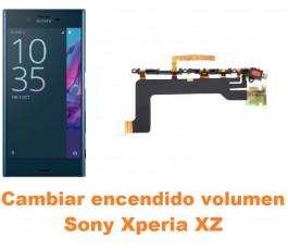 Cambiar encendido y volumen Sony Xperia XZ