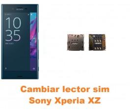 Cambiar lector sim Sony Xperia XZ