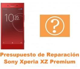 Presupuesto de reparación Sony Xperia XZ Premium