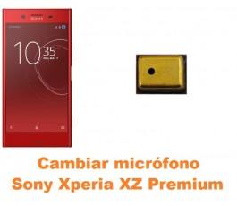Cambiar micrófono Sony Xperia XZ Premium