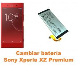 Cambiar batería Sony Xperia XZ Premium