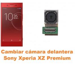 Cambiar cámara delantera Sony Xperia XZ Premium