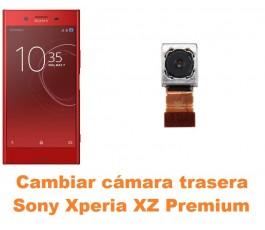 Cambiar cámara trasera Sony Xperia XZ Premium