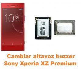Cambiar altavoz buzzer Sony Xperia XZ Premium