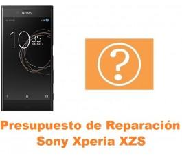 Presupuesto de reparación Sony Xperia XZs