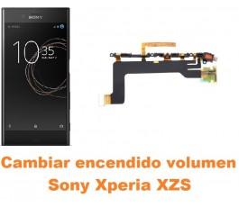 Cambiar encendido y volumen Sony Xperia XZs