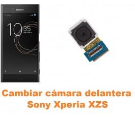 Cambiar cámara delantera Sony Xperia XZs