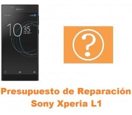 Presupuesto de reparación Sony Xperia L1