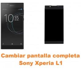 Cambiar pantalla completa Sony Xperia L1