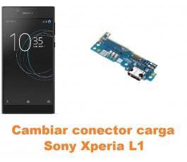 Cambiar conector carga Sony Xperia L1