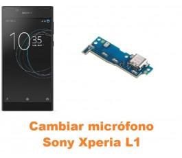 Cambiar micrófono Sony Xperia L1