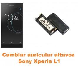 Cambiar auricular altavoz Sony Xperia L1