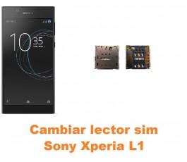 Cambiar lector sim Sony Xperia L1
