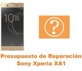 Presupuesto de reparación Sony Xperia XA1