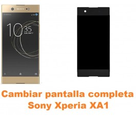 Cambiar pantalla completa Sony Xperia XA1