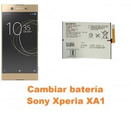Cambiar batería Sony Xperia XA1