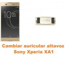 Cambiar auricular altavoz Sony Xperia XA1