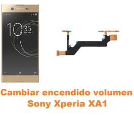 Cambiar encendido y volumen Sony Xperia XA1