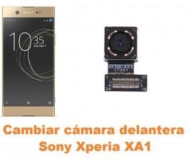 Cambiar cámara delantera Sony Xperia XA1