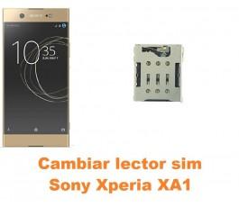 Cambiar lector sim Sony Xperia XA1