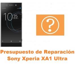 Presupuesto de reparación Sony Xperia XA1 Ultra