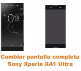Cambiar pantalla completa Sony Xperia XA1 Ultra