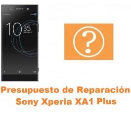 Presupuesto de reparación Sony Xperia XA1 Plus