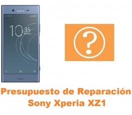 Presupuesto de reparación Sony Xperia XZ1