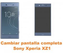 Cambiar pantalla completa Sony Xperia XZ1