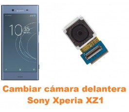 Cambiar cámara delantera Sony Xperia XZ1