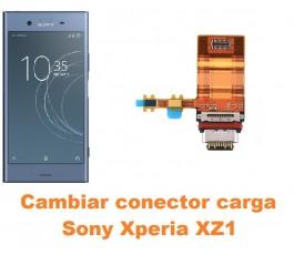 Cambiar conector carga Sony Xperia XZ1