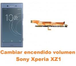 Cambiar encendido y volumen Sony Xperia XZ1