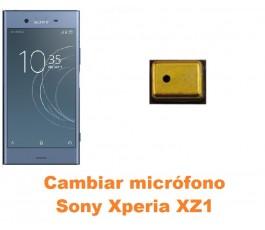 Cambiar micrófono Sony Xperia XZ1
